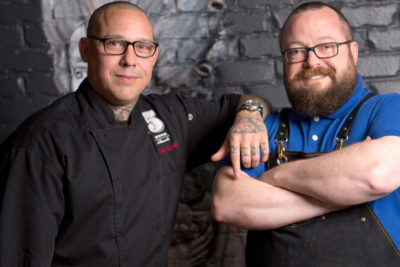 Jamie Lynch and Bob Peters pairing for cocktail dinner