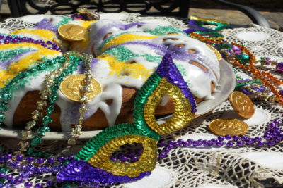 Celebrate Fat Tuesday with a king cake
