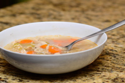 Chef's home recipe: Autumn chicken & rice soup