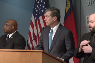 Gov. Cooper on executive order closing restaurants