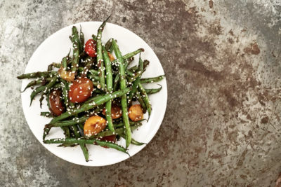 Quarantined Cooking: Ginger Soy Green Beans