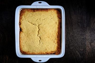 Quarantined Cooking: Fiesta Cornbread Casserole