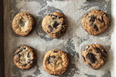 Quarantined Cooking: Whole Wheat Chocolate Chip Cookies