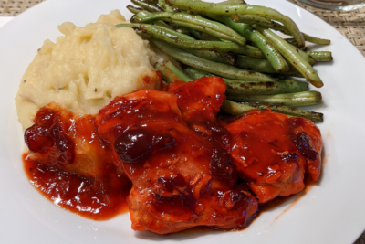 Unpretentious Cooking: Cranberry Chicken