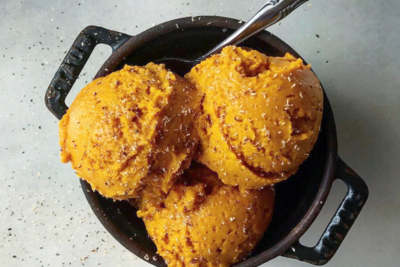 Unpretentious Cooking: No-Churn Pumpkin Ice Cream