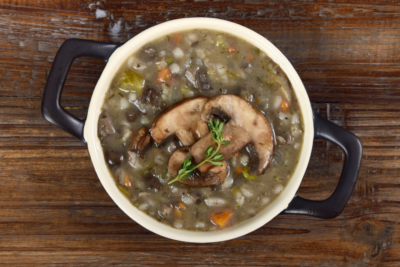 Unpretentious Cooking: Mushroom Barley Soup